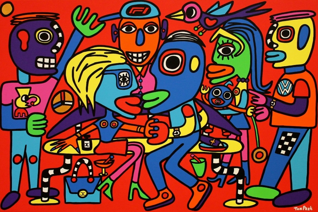 More than love 120cm x 80cm acrylic on canvas in commission SOLD