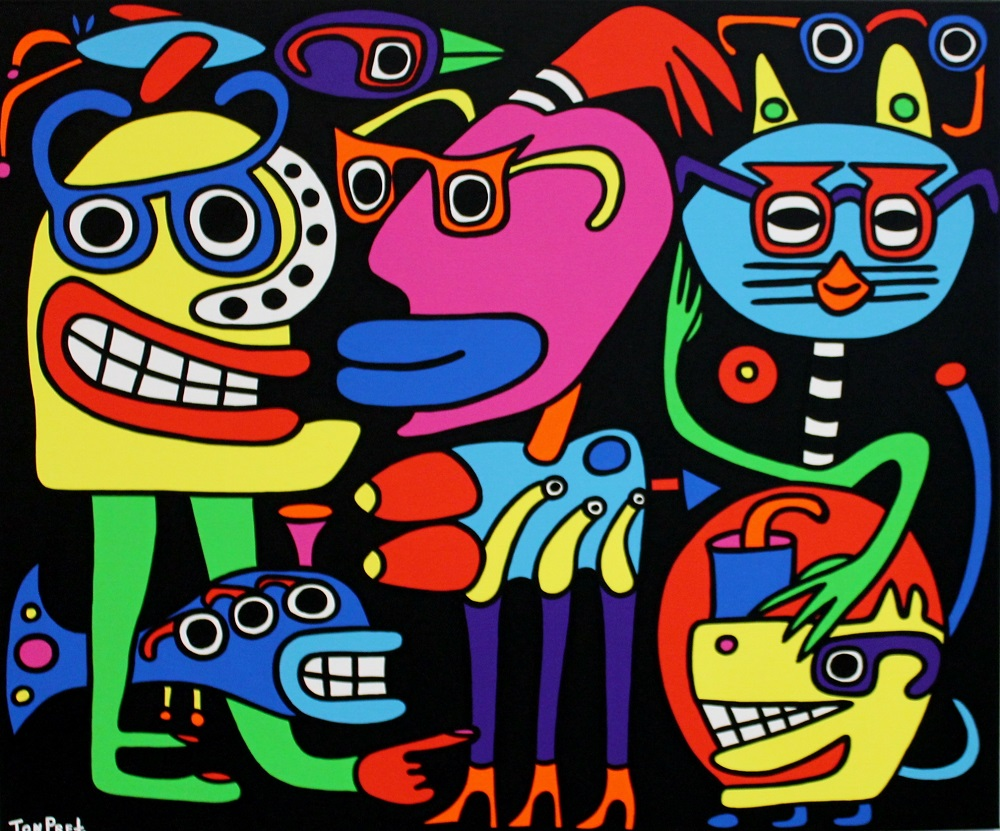 I can see clearly now, in commission for Brillemans 120cm x10cm acrylic on canvas SOLD
