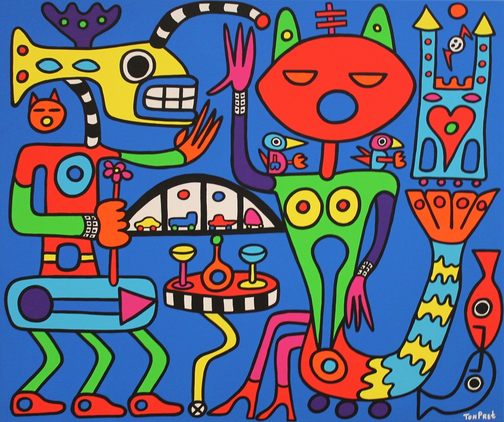 I only want to be with you 120cm x 100cm acrylic on canvas