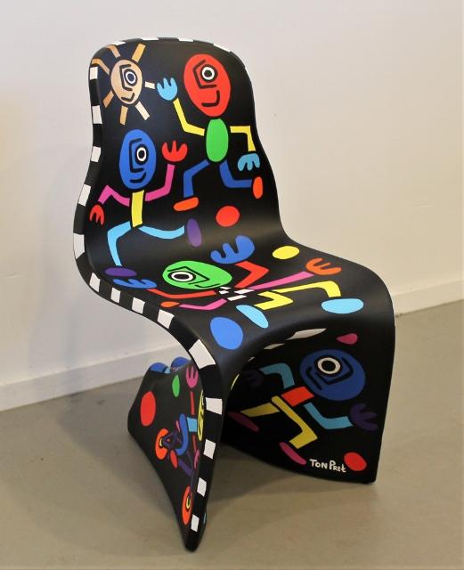 "Art edition Fabio Novembre design chair Casamania ""on the move"" part 1 SOLD"