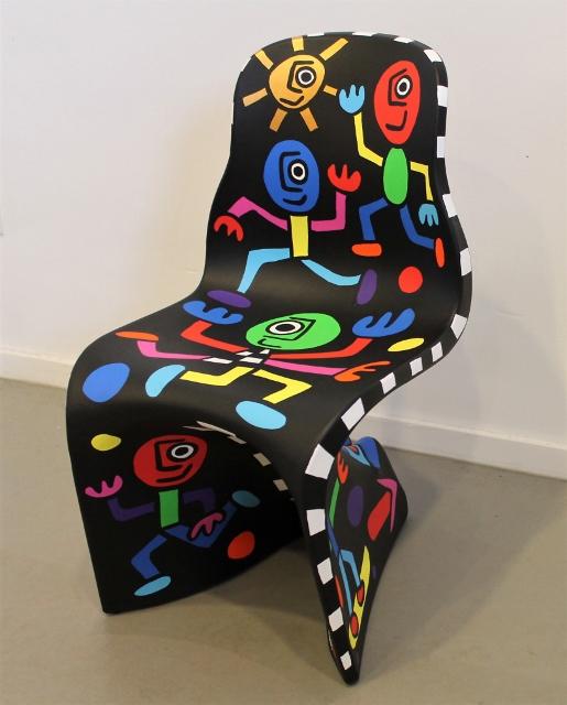 "Art edition Fabio Novembre design chair Casamania ""on the move"" part 2 SOLD"