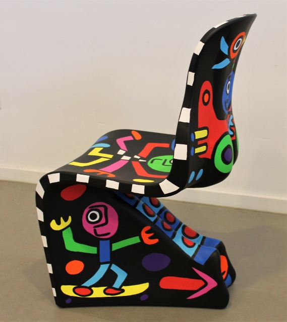 "Art edition Fabio Novembre design chair Casamania ""on the move"" part 4 SOLD"