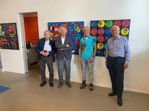 Danubiana museum and museum Jan visit Ton Pret Art studio
